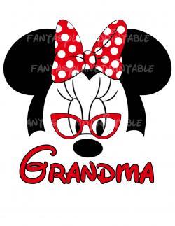 Mouse clipart grandma