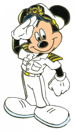 Mickey Mouse clipart captain