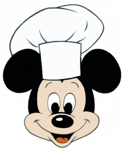 Mickey Mouse clipart chef