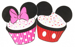 Mickey Mouse clipart cupcake