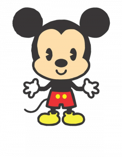 Mickey Mouse clipart cute