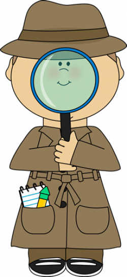 See clipart detective