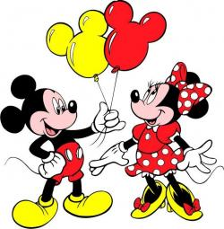 Mickey Mouse clipart friend
