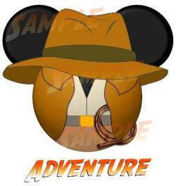 Indiana Jones clipart disney