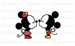 Mickey Mouse clipart kiss