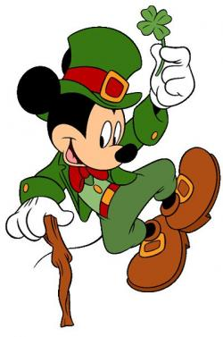 Mickey Mouse clipart leprechaun
