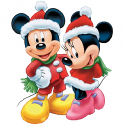 Mickey Mouse clipart merry christmas