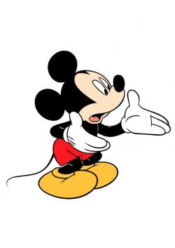 Mickey Mouse clipart money
