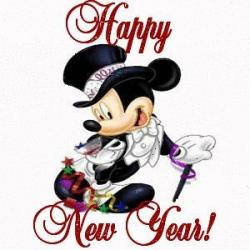 Mickey Mouse clipart new year