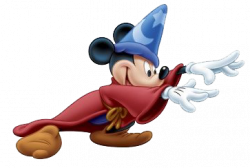 Mickey Mouse clipart sorcerer
