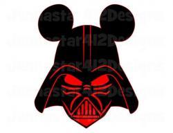 Darth Vader clipart head