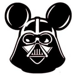 Mickey Mouse clipart star wars