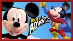 Mickey Mouse clipart superhero