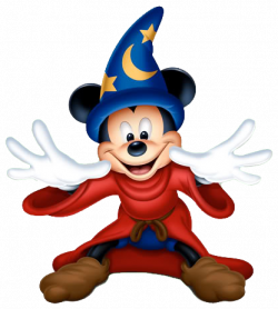Mickey Mouse clipart wizard