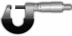 Micrometer clipart