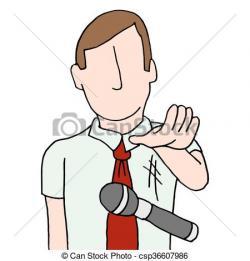 Microphone clipart drop