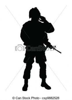 Militant clipart american soldier