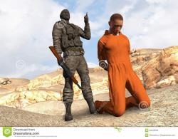 Terrorist clipart hostage