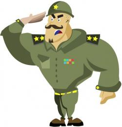 Military clipart army uniform