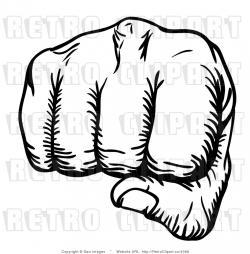 Militant clipart hand punch