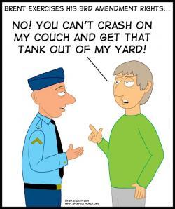 Soldier clipart 3rd amendment