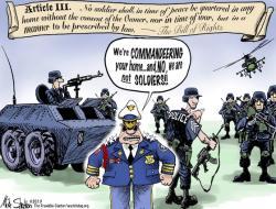 Military clipart 3rd amendment