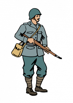 Military clipart american soldier