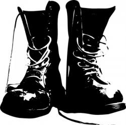 Boots clipart army boots