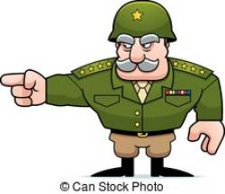 Army clipart army commander