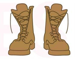 Soldier clipart boot