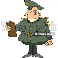 Military clipart army man