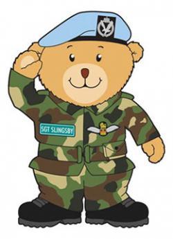 Military clipart bear