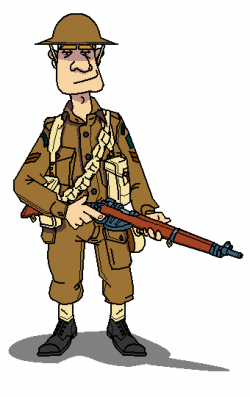 Sniper clipart ww1 soldier
