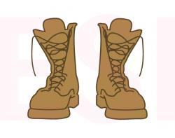 Soldiers clipart boot