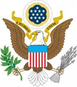 USA clipart eagle
