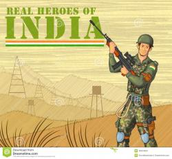 Military clipart indian soldier
