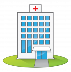 Hospital clipart cute