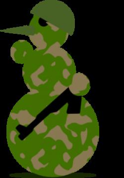 Military clipart santa