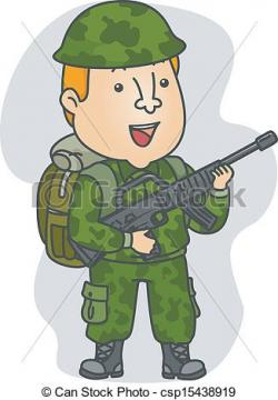 Soldiers clipart graphic