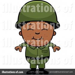 Soldiers clipart illustration