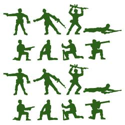 Military clipart toy soldier