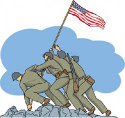 Military clipart veterans day