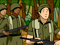 Military clipart vietnam war