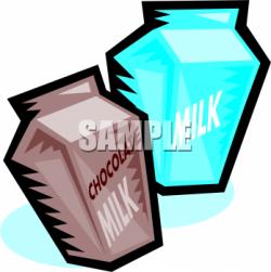 Milk Carton clipart plain