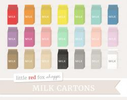 Milk Carton clipart school lunch