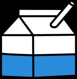 Milk Carton clipart transparent
