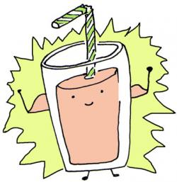 Smoothie clipart funny