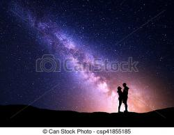 Milky Way clipart night sky