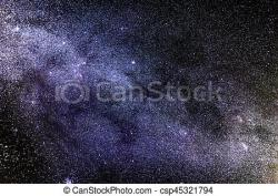 Milky Way clipart nighttime sky