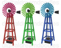 Windmill clipart southern cross